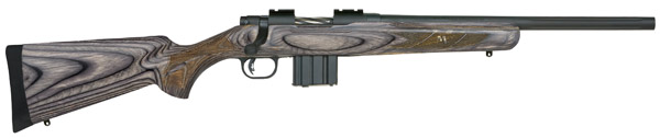 "Mossberg MVP Bolt 223 Remington/5.56 NATO 18.5"" Laminated Blue Matte/Satin"