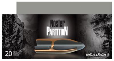 Nosler Partition 7mm Remington Magnum Nosler Partition 175 GR 20Box