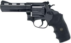 "Rossi Revolver 38 Special 4"" w/Vent Rib 6rd Black Rubber Grip Blue"