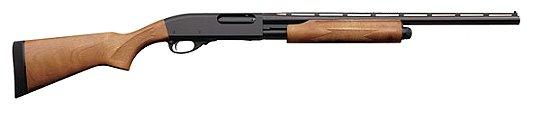 "Remington 870 Pump 20 ga 26"" 3"" Wood Black Finish"