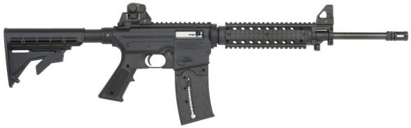 "Mossberg 715T Tactical AR-15 .22LR 16.25"" Barrel 25 Round Magazine 6 Pos Stk"