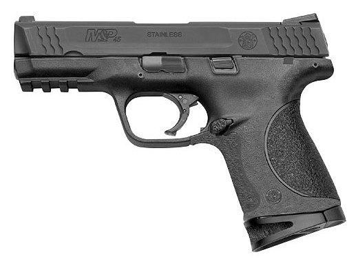 """Smith & Wesson M&P 45 Compact 4"""" Barrel Melonite 8 Rounds MA"""