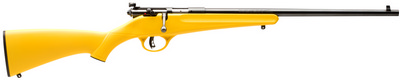 Savage Rascal Bolt .22 Long Rifle  Yellow Synthetic