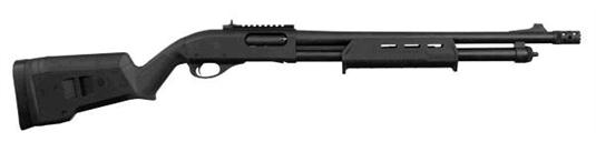 "Remington 870 Tactical Magpul Pump 12Ga 3"" 18.5"""