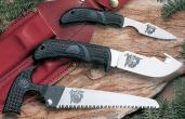 Outdoor Edge Kodi Pack Fixed Set AUS-8 Caper/Skinner w/ Gut Hook/Saw Blade K