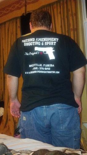 """Second Amendment """"Original 1911"""" Shirt Extra Large"""