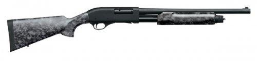 "Weatherby PA-08 Pump 12 ga 18.5"" 3"" Skull Black Finish"