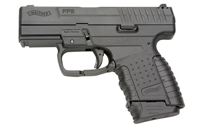 Walther PPS Double Action Only Compact 40 S&W 3.2 Polymer Blue 6Rd 1 Mag Fired Case Fixed Sights