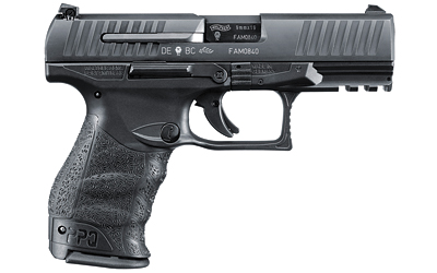"Walther PPQ M2 9MM, 4"" Barrel, Black Finish, 15 Rounds"