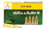 Sellier & Bellot Rifle 243 Win 100Gr Soft Point 20