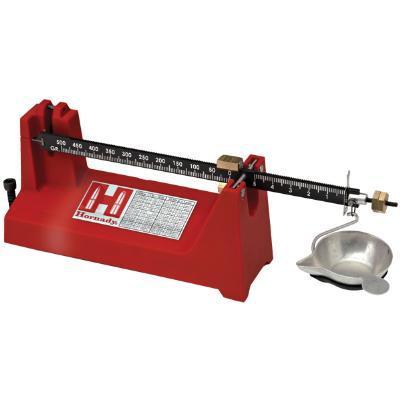 Hornady Balance Beam Scale 500 grain capacity Magnetic damper Molded pan  hanger Hardened pivot pins & bearings