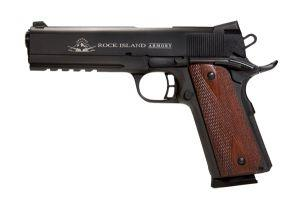 Rock Island Armory Tactical 2011 1911 FS .45ACP Picatinny Rail Novak night sights 8 rounds