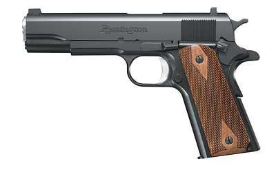 "Remington 1911 R1 45ACP 5"" 7+1 Double Diamond Walnut Grip Satin Black Oxide"