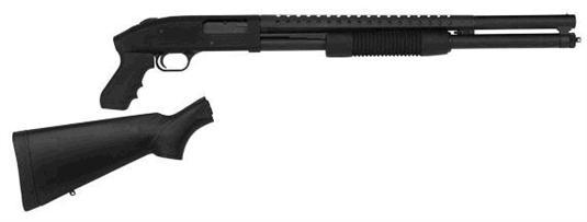 Mossberg 500 12g Cruiser/Persuader Combo Package W/Pistol Grip & Full Stock