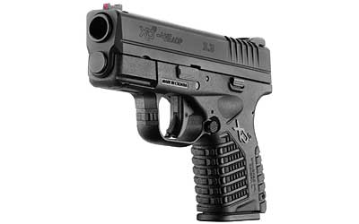 "Springfield Armory XDs Semi Auto Pistol .45 ACP 3.3"" Barrel 5 Rounds Polymer Frame Black Slide Finish Essentials Package XDS93345BE"