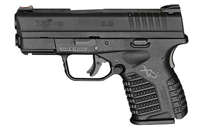 """Springfield Armory XDs Semi Auto Pistol 9mm Luger 3.3"""" Barrel 7 Rounds Polymer Frame Black Slide Finish Essentials Package XDS9339BE"""