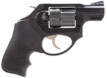 "Ruger LCR Revolver .38 Special +P 1.875"" Barrel 5 Rounds Hogue Tamer Grip IonBond Diamondback Finish LCRX"