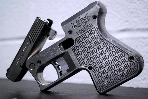 """Heizer Defense Pocket Shotgun Pistol 410/45COLT 3.25"""" Barrel Stainless Steel Black Finish"""