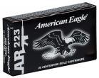 Federal AE223F 223 Remington 55GR Full Metal Jacket 20 per Box