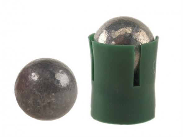 Hornady Muzzleloading Bullets 50 Caliber (485 Diameter) Hard Ball with  Sabot Box of 20