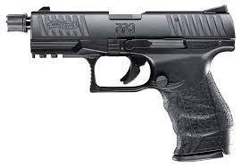 """Walther PPQ M2 Tactical,  .22 LR, 4.6"""" threaded Barrel, Black Finish, 12 Round"""