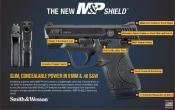 Smith & Wesson® M&P Shield Semi Automatic Pistol .40 Caliber