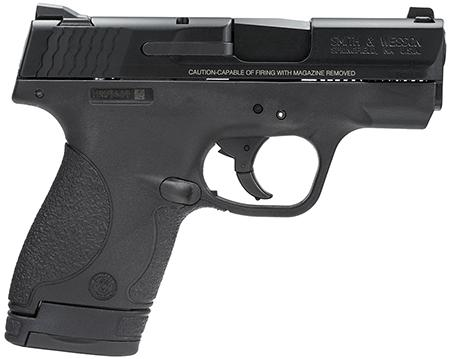 "Smith & Wesson M&P Shield 9mm 3.1"" 7+1, 8+1 Syn Grip Black Finish"