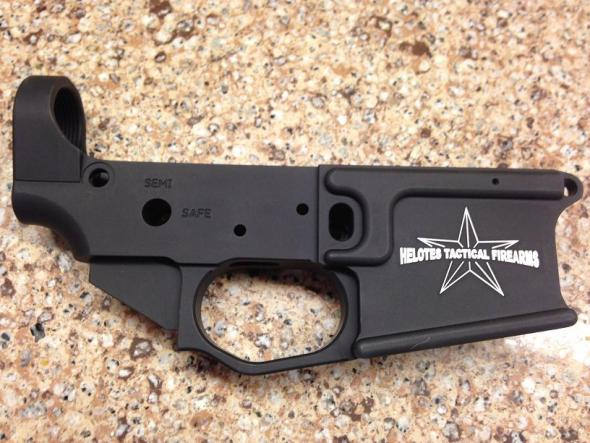 Helotes Tactical Firearms 308 Stripped Lower