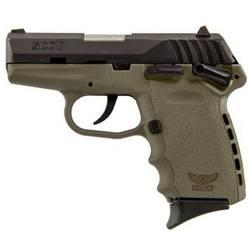 """SCCY Industries CPX-1 Carbon DAO 9mm 3.1"""" 10+1 Integral Grip FDE"""