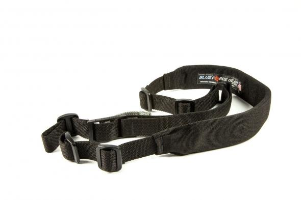 Blue Force Vickers Padded 2-Point Sling Black