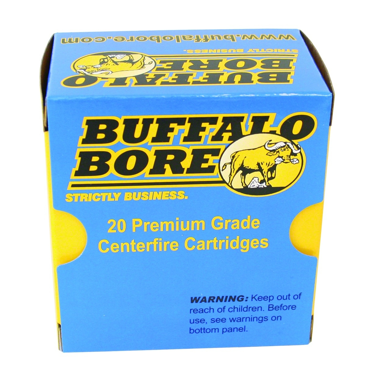 Buffalo Bore 40 S&W 200gr Hard Cast FN 20rd