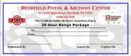20 Hour Range Package