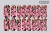 Jamberry Hunter Girl Pink Camo Nail Wraps ( REAL TREE CAMOUFLAGE )