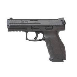 "H&K VP9 Semi Auto Pistol 9mm Luger 4.09"" Barrel 10 Rounds Striker Fired 3-Dot Sights Polymer Frame Black Finish 700009-A5"