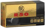 RWS Ammunition, 22LR, 40 Grain, Lead Round Nose Rounds In 50 Box