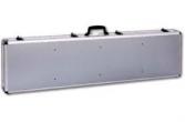 ADG 31026 Aluminum Case Double Rifle Wheeled Case Keyed Ltch