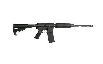 "Armalite, Defensive Sporting Rifle, 223 Rem, 16"" Barrel, 1:7 Twist, Black Finish, Black Colapsible Stock, 30Rd, 1 Magazine, Mil-spec 1913 Rail"