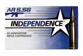 Federal XM193I Independence 5.56 NATO 55 GR FMJ 20Box/25Case