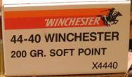 Winchester 44-40 Winchester