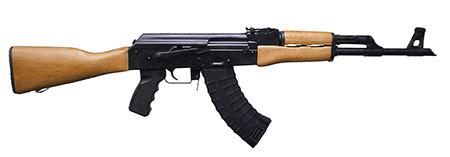 "Century Arms RAS47, Semi-automatic Rifle, 762X39, 16.5"" Barrel, Black Finish, Magpul MOE Furniture, 1:10 Twist, 30Rd RI2362-N"