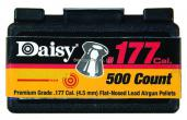 Daisy Lead Flat-nose .177 pellets 500 count