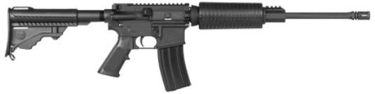 "DPMS, Oracle, Semi-automatic, 223 Rem/556NATO, 16"" Barrel, Black Finish, AP4 6-Position Stock, 30Rd, FlatTop, Forward Assist, Dust Cover"