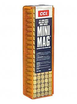 CCI/Speer, CCI, Mini Mag, 22LR, 36 Grain, Gilded Lead Hollow Point