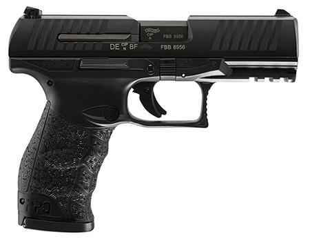 "Walther PPQ M2, Semi-automatic Pistol, Full Size, 45 ACP, 4"" Barrel, Polymer Frame, Black Finish, Fixed Sights, 12Rd, 2 Magazines 2807076"