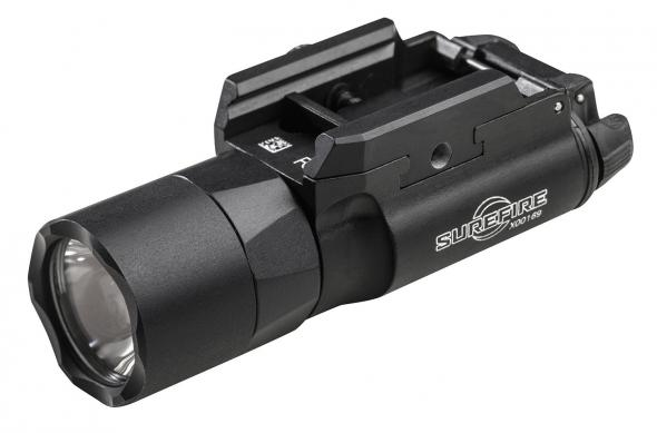 Surefire, X300 Weaponlight, Weaponlight, Pistol and Picatinny, LED 600 Lumens, 2x 123A, Black