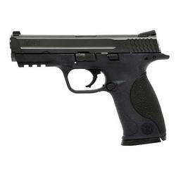 """Smith & Wesson M&P, Full Size, 9MM, 4.25"""" Barrel, Polymer Frame,Black Finish, Low Profile Carry Sights, 10Rd, 2 Magazines 109251"""