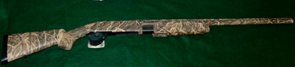 12 ga. pump shotgun