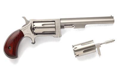 North American Arms Mini Revolver Sidewinder, Single Action, 22LR/22WMR, 4
