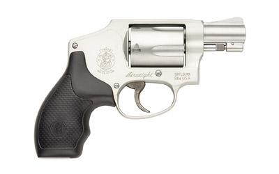 "Smith & Wesson Model 642, SmallFrame, 38 Special, 1.875"" Barrel, Alloy Frame, Stainless Finish, Rubber Grips, Fixed Sights, 5Rd 163810"