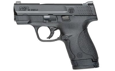 "Smith & Wesson M&P Shield, Double Action Only, Compact Pistol, 40S&W, 3.125"" Barrel, Polymer Frame, Blue Finish, 3 Dot Sights, 6Rd & 7Rd, No Manual Safety, 2 Mags 10034"